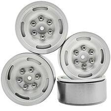 """4 Pcs 1/10 1.9"""" Alloy beadlock Crawler wheels rims D90 RC4WD AXIAL SCX10 CC01"""