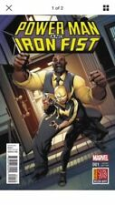POWERMAN AND IRON FIST #1 CONVENTION KICK OFF VARIANT (2016)VF/NM MARVEL