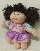 Cabbage Patch Hasbro First Edition Brown Pony Tail Green Eyes.