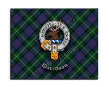 Davidson Clan Mouse Pad - Scottish Design Mat - High Quality - Tartan