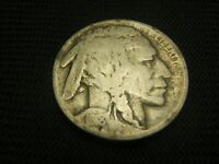 1918 D  Old Buffalo Nickel pre WWII US Coin scarce date