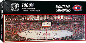 Montreal Canadiens Bell Center 1000 Piece Panoramic Puzzle
