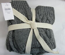 J.Jill Cozy Cable Trio    Scarf Hat & Mittens   NWT  $79