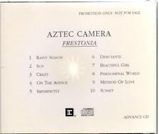 Aztec Camera, Frestonia; Adv 10 trk pr CD