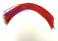 20 x 2.54mm Dupont Female Crimp Contact Jumper 30cm RED wire Arduino Breadboard