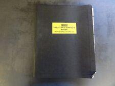 Rosco Vibrastat III & Stapac III Asphalt Rollers Operation Maintenance and Parts