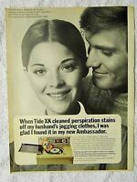 1970 Magazine Advertisement Page Tide XK Laundry Detergent Washing Machine Ad