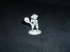 Spooniques Pewter Clown Tennis Player Figurine 1988 PP473
