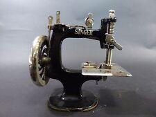 Máquina de coser Singer kindernähmaschine Modernismo ANTIGUO Casa Muñecas MADE