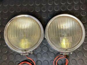 Pair of Car Auxiliary Head Light Hella K11115 / K11445 - Mercedes, Porsche, VW