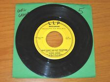 "GIRL GROUP NORTHERN SOUL 45 RPM - GLORIA PARKER - LLP 102 -""WHY CAN'T WE GET..."""