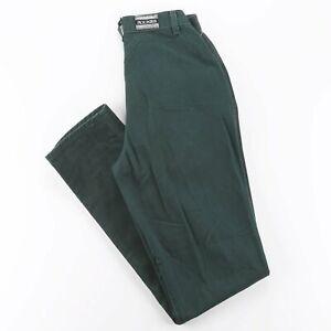 ROCKIES  Green Denim Slim Straight Jeans Womens W26 L36