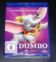 Dumbo Disney Classics 4 Walt Film blu ray Veloce Nuovo e Confezione Originale