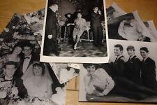 HONEYCOMBS ~ 10 ORIGINAL NEWSPAPER PUBLICITY PRESS PHOTOGRAPHS 1960s JOE MEEK