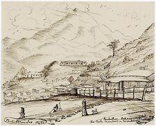 1845 | Herbert EDWARDES | INDIA hero of multan | SOOBATHOO | pen/ink drawing