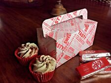 10 Double Cupcake Box - Big Cake Slice - with Free Postage