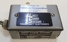 UNITY POWER SYSTEMS, ELECTRICAL ENCLOSURE BOX, UP1301F, SINGLE PHASE, 120 VOLTS