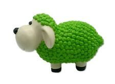 Schaf Figur Grün 23 x 14 x 11 cm Hellgrün bunte Tierfiguren Haus Garten Schafe