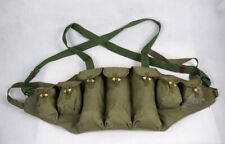 Surplus Military Chinese 1970's-1980's Type 56 Chest Rig Ammo Pouch
