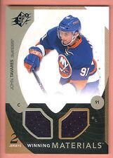 10/11 UD SPX Winning Materials #TA John Tavares Dual Jersey Card