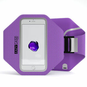 Universal Sport Phone Armband Bag Jogging Smartphone Fitness Arm Band Purple