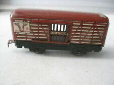 Vintage Marx Union Railroad Livestock Tin  Railcar
