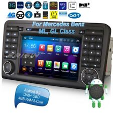 Mercedes Autoradio Android 8.0 DAB+ ML GL Class W164 X164 DVD GPS 32G ROM 7883FR