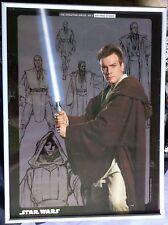Star Wars Obi Wan Kenobi Episode One Poster Ewan McGregor Framed