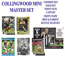 2018 TEAMCOACH COLLINGWOOD MAGPIES 35 CARD MASTERS TEAM SET FOOTY GOLD SWAN