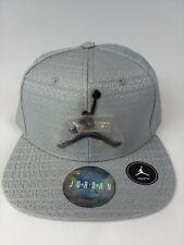 Nwt Nike Jordan Youth Chrome Baseball Cap Snapback Hat Sz 8/20