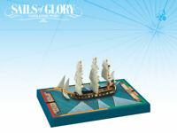 Sails of Glory: Thorn 1779 14 Guns Swan Class American Ship Sloop Ship Pack