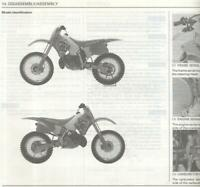 Honda CR250R-P (1993) Genuine Factory Service & Repair Manual Book CR 250 R CF75