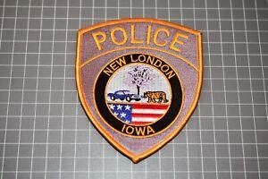 New London Iowa Police Patch (US-Pol)