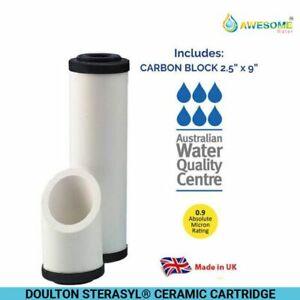 AWESOME WATER® FILTER - Doulton Sterasyl® - Ceramic Cartridge