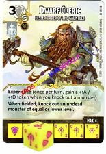 031 DWARF CLERIC Lesser Order... -Common- BATTLE FOR FAERUN - D&D Dice Masters