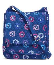 Vera Bradley Crossbody Quilted Adjustable Strap Mail Bag Ellie Flowers
