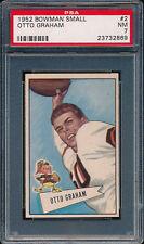 1952 Bowman Small #2 Otto Graham PSA 7 (FB01)