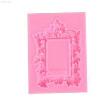 Frame Silicone Fondant Cake Mould Chocolate Decor Sugarcraft Gumpaste DIY M