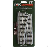 Kato 2-851 Aiguillage Droite / Electric Turnout Right #4 R550 22.5° - HO