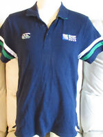 Rugby World Cup 2015 Shirt - Navy Blue Polo Shirt - Canterbury - Large