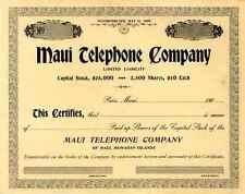 Maui Telephone Company
