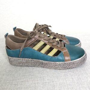 Spring Step L'Artiste Size 39 US 8 Women's Porscha Oxford Sneakers Leather Mint