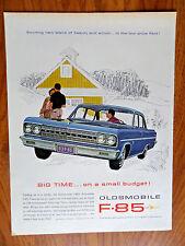 1963 Oldsmobile F-85 Ad  Big Time 1963 Tupperware Plactic Ad  Wifesaver