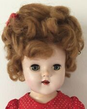 """Vintage 1950's Horsman 16"""" Plastic Doll Marked 170 Made In USA"""