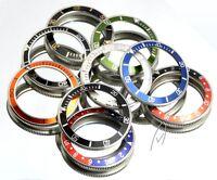 AM-Watches Bezel for Vostok Diver Watches Stainless Steel Aluminium Insert