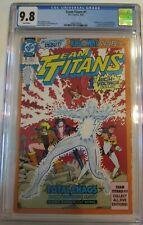 Team Titans #1 (1992) 1st Appearance Killowat CGC 9.8 U333