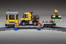 Lego City Eisenbahn Waggon mit Kran & Schienen-LKW  3677 / 7939 / 60052 /60098