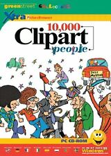 10,000 Clipart People PC CD