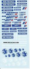 decals decalcomanie  air france  1/43