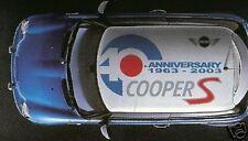 Genuine Mini Cooper Cooper S Roof Graphic Decal NEW